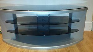 Tv stand with glass. for Sale in Boston, MA