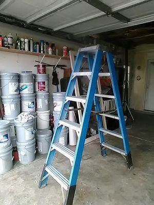 Werner 6' foot double step ladder. for Sale in Las Vegas, NV
