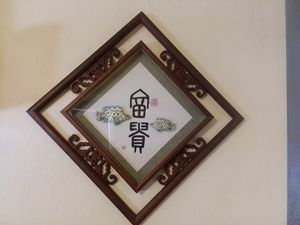 Chinese Shadow Box Marked & Stamped-read details for Sale in Orlando, FL