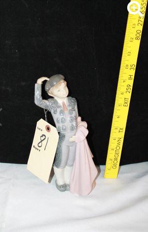 Retired LLADRO BOY MATADOR Boy Bullfighter Figurine Jose Roig #5117 for Sale in Houston, TX