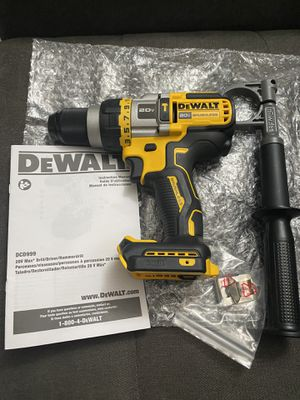 DEWALT 20v MAX Flexvolt Advantage (Gen3) 3-Speed Brushless 1/2 in. Hammer Drill/Driver with Tool Connect (Tool Only)!! New for Sale in San Diego, CA