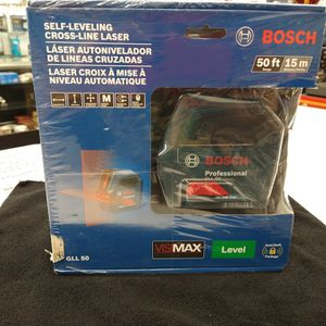 Bosch Self Leveling Cross Line Laser for Sale in New Britain, CT