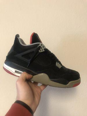 Air Jordan Bred 4 for Sale in Portland, OR