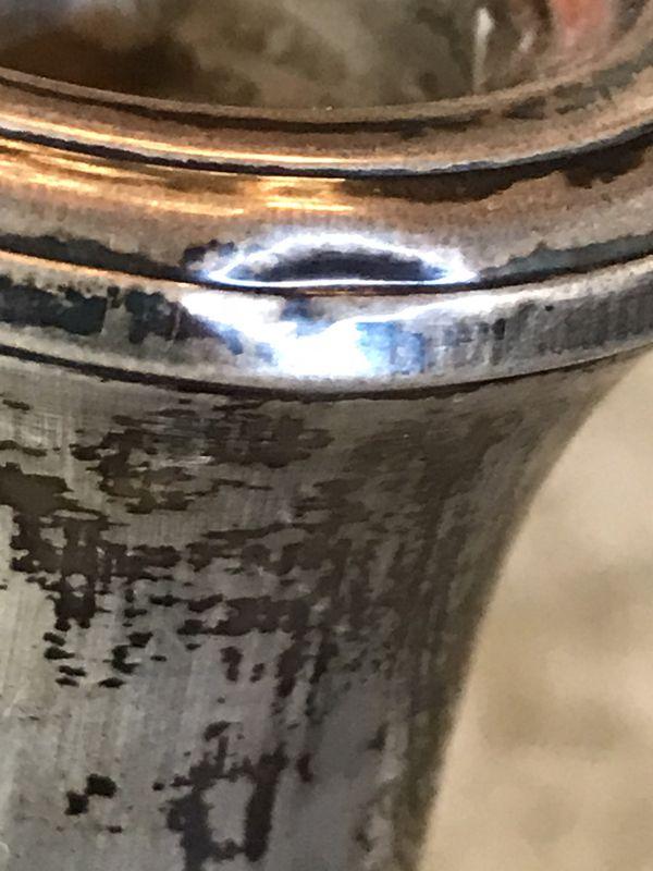 Vintage Garden silversmith 3 light candelabra