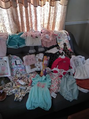 Baby girl clothes/accessories for Sale in Zephyrhills, FL