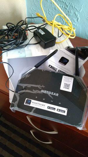 Netgear Nighthawk AC1600 wifi router for Sale in Dallas, TX