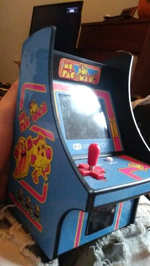 Mini pacman arcade game Mrs.Pacman edition for Sale in Mitchell, IL