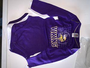 Minnesota Vikings nfl onesie Long Sleeve 18 m for Sale in Killeen, TX