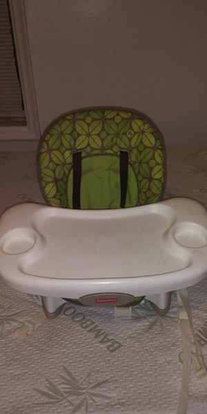 High chair booster seat space savor fisher price for Sale in The Bronx, NY