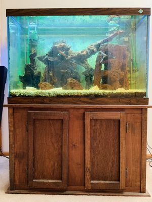 65 Gallon Tank with Stand for Sale in Waldwick, NJ