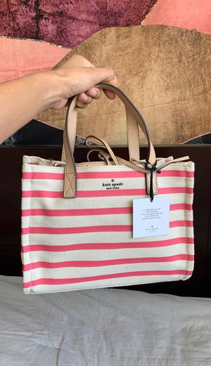 Brand New Kate Spade Canvas Small Tote for Sale in Downey, CA