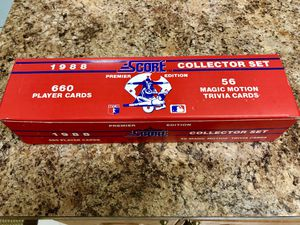 Baseball Cards: 1988 Score Premier Edition Collector Set for Sale in Hialeah, FL