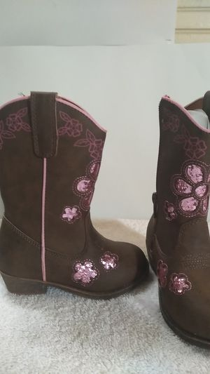 girls' cowboy boots for Sale in Sudley Springs, VA
