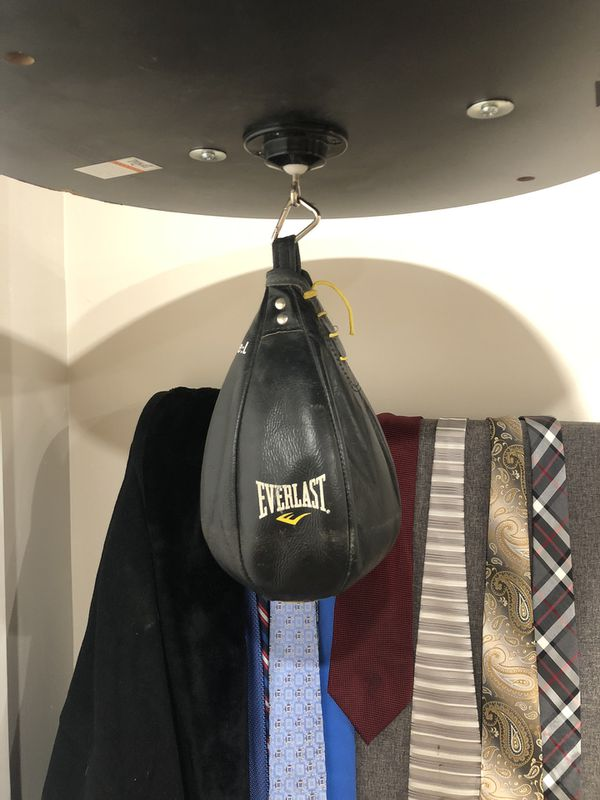Everlast 2 station stand with 70lb Heavy Bag