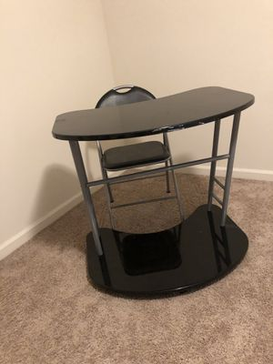 Desk and Chair for Sale in Greensboro, NC