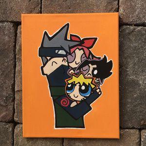 Naruto X The Powerpuff Girls for Sale in Dunwoody, GA
