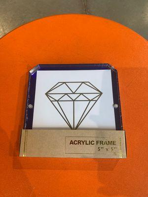 Diamond Acrylic Frame for Sale in Raleigh, NC
