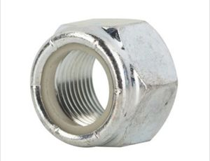 "64 3/8""-16 Grade 2 Zinc Finish NE Steel Nylon Insert Lock Nut for Sale in Bridgeport, WV"