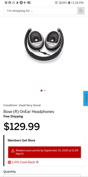 D538,261 bose headphones for Sale in Portland, OR