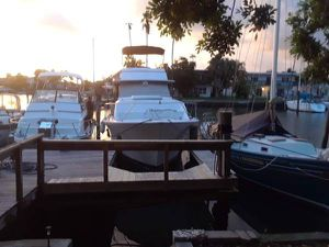 1972 40' pacemaker aft cabin live aboard motor yacht for Sale in Treasure Island, FL