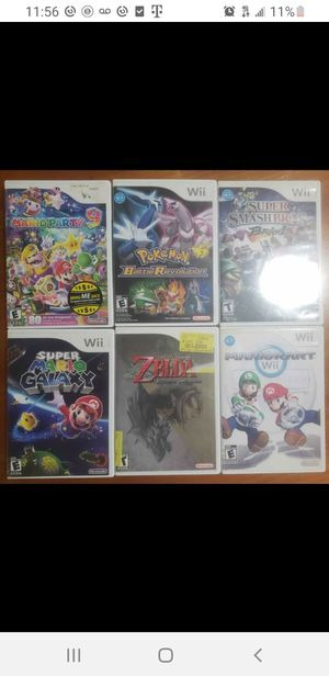 Wii Games for Sale for Sale in Everett, MA