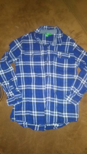 Like new. Boys size Med/8-10. Button down for Sale in Canby, OR