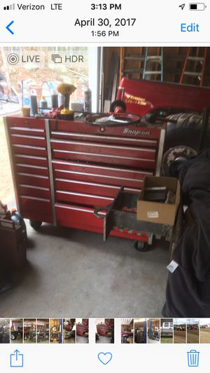 Snap on toolbox full of tools for Sale in Coventry, RI