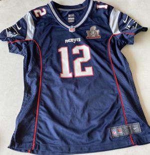 Tom Brady patriot super bowl jersey for Sale in Des Plaines, IL