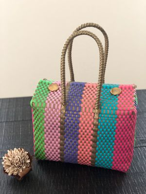 RECYCLED PLASTIC PURSE. MADE IN MEXICO. for Sale in San Antonio, TX