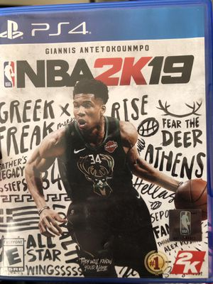 2k19 for PS4 for Sale in Columbus, OH