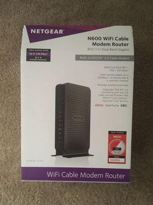Netgear modem router for Sale in Sacramento, CA