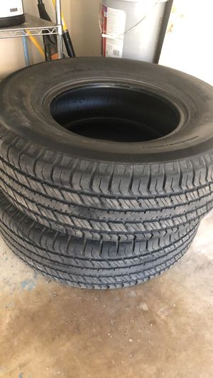 2 Starsail tires 265/75/16 for Sale in Richardson, TX