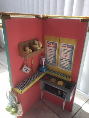 Leah's fruit stand from American Girl for Sale in FL, US
