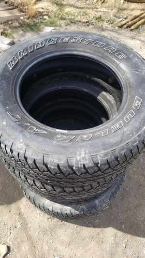 🔥Bridgestone tires🔥 275/70 R18 very well conditions for Sale in Olathe, CO