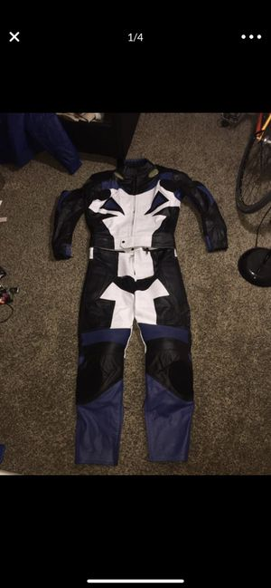 Motorcycle full gear suit for Sale in Nashville, TN