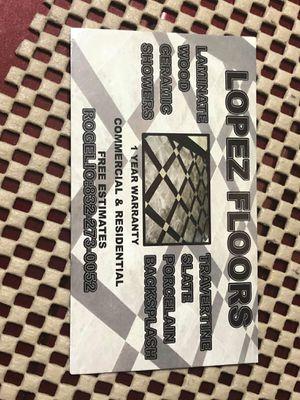 LOPEZ FLOORS.. for Sale in Houston, TX