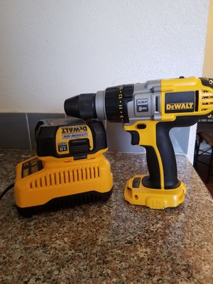 Dewalt hammer drill and charger for Sale in Fort Worth, TX