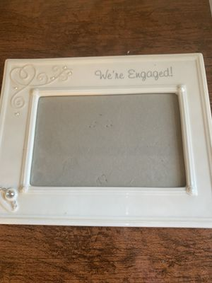 """""""We're Engaged"""" Photo frame for Sale in Cape May, NJ"""