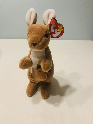 """""""Pouch"""" kangaroo TY Beanie Baby 1996 Retired for Sale in Austin, TX"""
