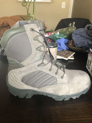 Brand new Bates work boots/composite men/Sage size 9 for Sale in Moorestown, NJ