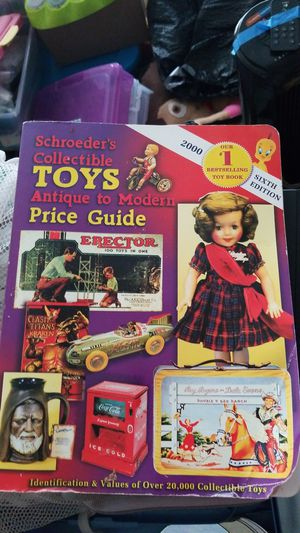 Collectible toys book for Sale in Portland, OR