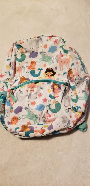 girls kids mermaid backpack school bag book bag for Sale in Moreno Valley, CA