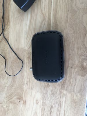 Router and modem for Sale in Gibsonton, FL