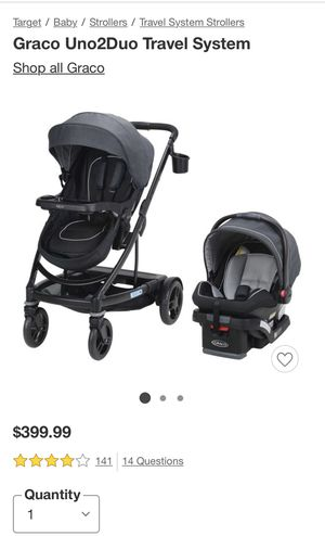Graco Uno2Duo Travel System for Sale in Tracy, CA