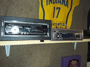 2 DIFFERENT TYPES OF CD PLAYERS,BOTH WORK GOOD!!!JUST UPGRADED TO A NICER ALPINE BLUETOOTH CD PLAYER... for Sale in Indianapolis, IN