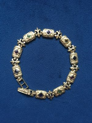 Vintage Gemstone 14KT Gold Bracelet for Sale in Nether Providence Township, PA