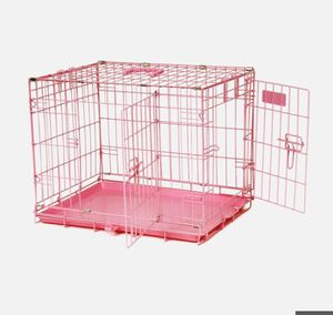 Small Pink Dog Crate for Sale in Berkeley, CA