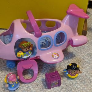 2005 Pink Little People Airplane Set for Sale in Tacoma, WA