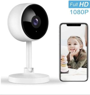 Home Security Camera, Littlelf 1080P FHD Indoor WiFi Wireless Camera with 2-Way Audio, Night Vision for Sale in Franklin Township, NJ