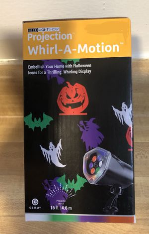 Brand new Halloween projection light show. (Pick up only) for Sale in Springfield, VA